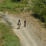 Ausflug im Campo mit Rad und Ross