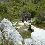 Wandertour bei Almuñecar im Rio Verde