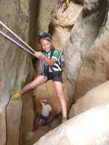 Klettertour durch die Garganta Verde